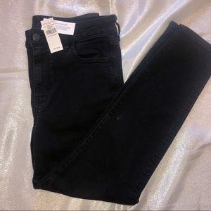 American Eagle size 14 short black jeans